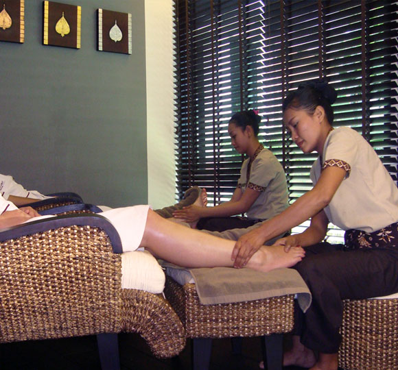 Chinese Foot Massage Technique